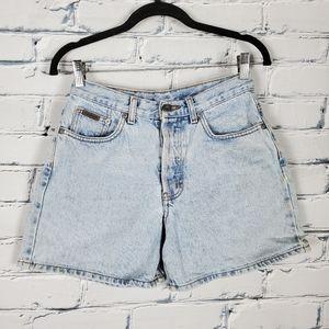 Calvin Klein Vintage Button Fly High Rise Shorts